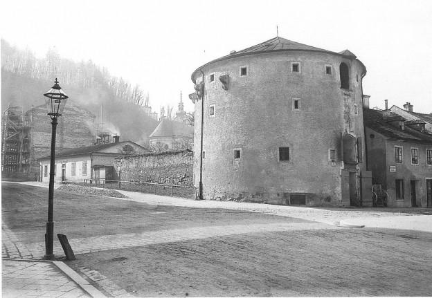 Hexenturm, 1901 © Stadtarchiv Salzburg