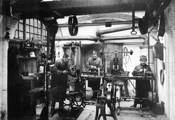 Werkstatt, 1919 | © Stadtarchiv Salzburg
