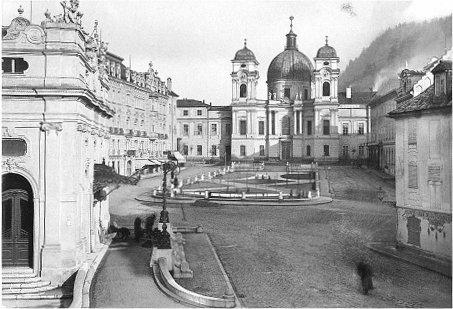 Makartplatz, 1909 | © Stadtarchiv Salzburg