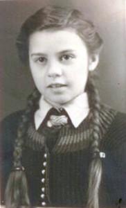 Helga Fallwickl, 1940er Jahre